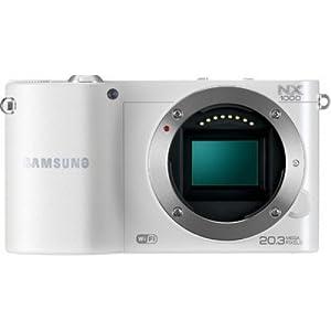 Samsung NX1000 20.3MP Mirrorless Camera (Silver)