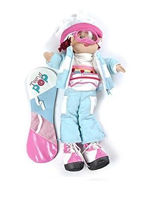 My Doll Muñeca Dusha 1 Snowboard TA007 Cielo