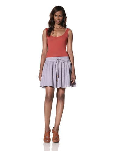 Dallin Chase Women's Pio Flared Skirt (Lilac)