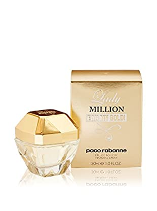 Paco Rabanne Eau de Toilette Mujer Lady Million Eau My Gold! 30 ml