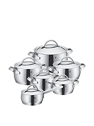 WMF Concento Cookware Set Of 12, Stainless Steel Grey