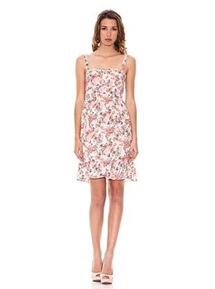 Pepe Jeans London Kleid Bloomfield (Rot/Weiß)