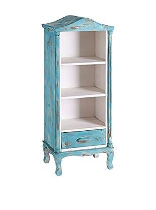 Librería Azul / Blanco