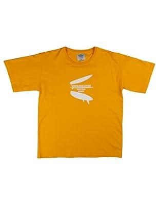 Metrokids Camiseta Niño Davao (Amarillo)
