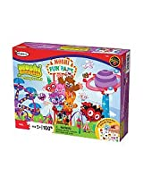 Colorforms Moshi Monsters Moshi Fun Park Activity Puzzle (100 Pieces)