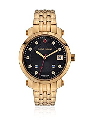 Chrono Diamond Reloj de cuarzo Woman Dorado