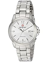 Swiss Military by R Women's 54006 3 A Alpha Analog Display Swiss Quartz Silver Watch