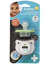 Safety 1st Comfort Check Pacifier Thermometer with Pacifier Medicine Dispenser