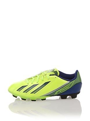 adidas Zapatillas Football F5 TRX FG J (Amarillo / Azul)