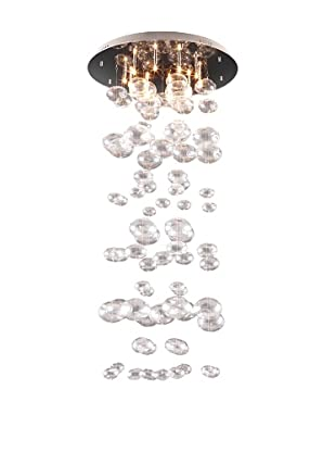 Zuo Inertia Ceiling Lamp, Clear