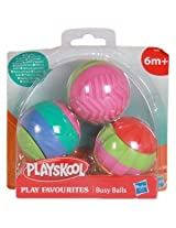 Funskool Busy Balls Assortment - 5 Pack for Babies