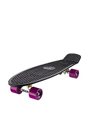 Ridge Skateboards Monopatín Big Brother Cruiser Negro / Violeta