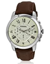 Fossil Analog Multi-Colour Dial Men's Watch - FS4908
