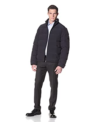 Prada Men's Nylon Bielastico Coat (Black)