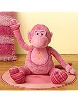 Auora Plush Stuffed Lotta Pink Monkey