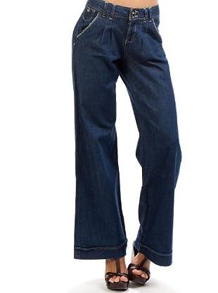 Desigual Pantalón (Azul Oscuro)