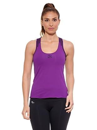 Naffta Camiseta Tirantes Purpne (Púrpura / Negro)