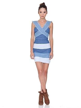 Rare Vestido De Tiras (Azul)