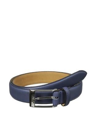 The British Belt Company Men's Pickworth Belt (Navy)