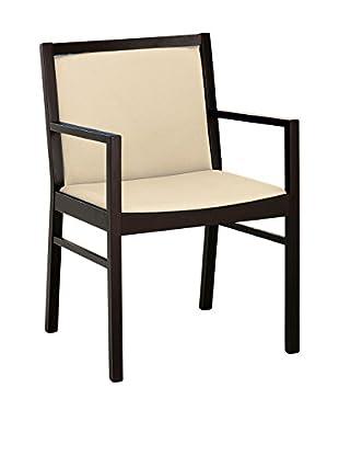 Domitalia Black Lacquered Armchair