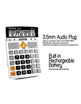 Smartslide Calculator Multifunction + micro SD Card USB + MP3 Player + Speakers + Radio FM