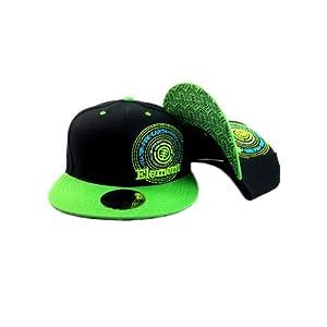 G&b Ele Snapback Cap - Black
