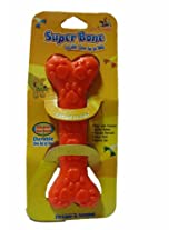 Super Dog Rubber Bone Medium