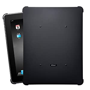 XGear iPad用スナップオン保護カバー BLACK-OUT for iPad IPD-RUB-BLK