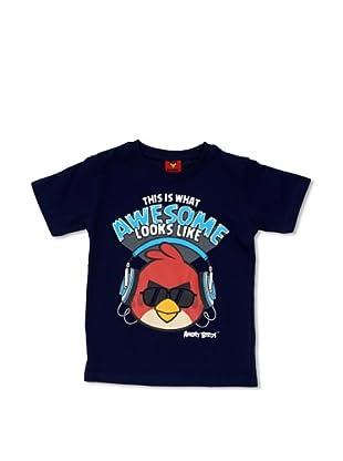 Licencias Camiseta Angry Birds (Marino)