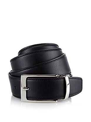 Andrea Cardone cinturón (Negro / Gris)