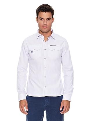 Pepe Jeans London Camisa Draft (Blanco / Violeta)