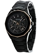 Titan Tycoon Chronograph Black Dial Men's Watch - NE1563KM04