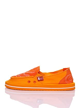 Wax Mocasines Playa Summer Line (Naranja)