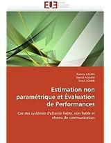 Estimation Non Parametrique Et Evaluation de Performances (Omn.Univ.Europ.)