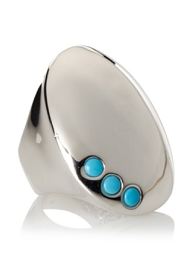 Jules Smith Festival Ring with Stones, Silver