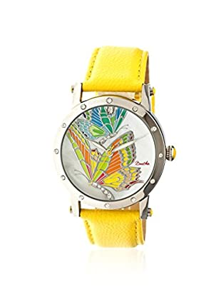 Bertha Women's BR4301 Isabella Yellow Leather Watch
