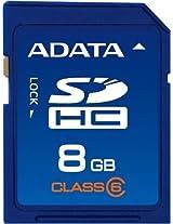ADATA 8GB Class 6 SDHC Flash Memory Card