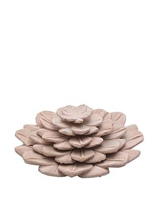 Set of 5 Lotus Flower Trays, Blush Pink
