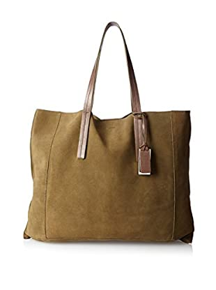 Joy Gryson Women's Dylan Suede Tote, Military