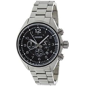 Fossil End of Season Flight Chronograph Black Dial Men's Watch - CH2800