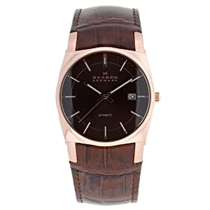 Skagen Men's 759LRLDJ Leather Watch