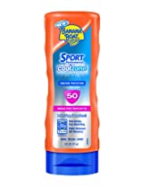 Banana Boat Sport Coolzone Sunscreen Lotion Spf 50 6 Ounce