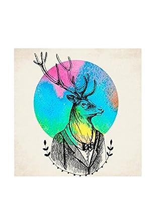 Really Nice Things Leinwandbild Deer Watercolor