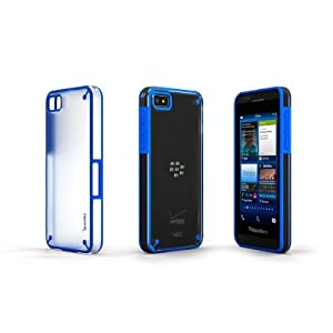 Poetic Atmosphere Case for BlackBerry Z10 Clear/Blue (3 Year Manufacturer Warranty From Poetic)