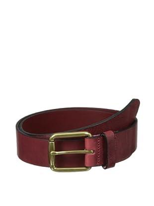 The British Belt Company Men's Bradgate Belt (Oxblood)