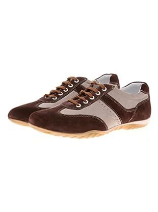 Jean-Louis Scherrer Sneaker Amik Cuir Nubuk (Braun)