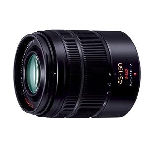 Panasonic デジタルカメラオプション マイクロフォーサーズシステム用交換レンズ 望遠ズームレンズ LUMIX G VARIO 45-150mm ASPH./MEGA O.I.S. H-FS45150