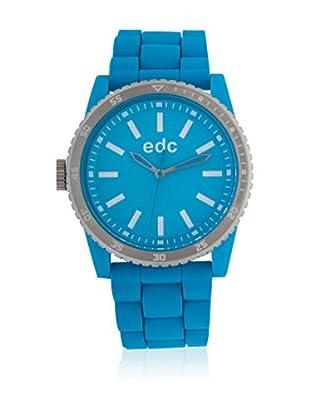 EDC Esprit Quarzuhr Rubber Starlet - Cool Ee100922007 türkis 42 mm