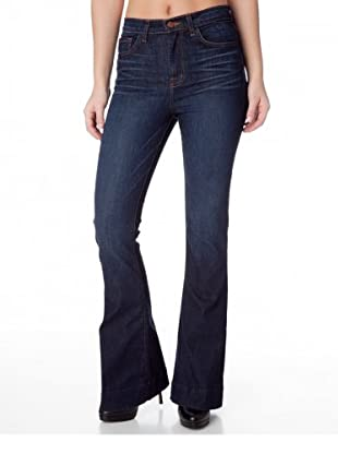 J Brand Jeans Bianca High Rise Wide Leg Monaco (Blau)