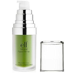 e.l.f. Studio Mineral Infused Face Primer, Tone Adjusting Green, 0.47 Ounce